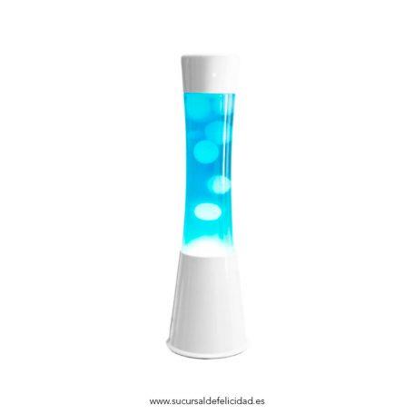 Lámpara de Lava Ice Azul