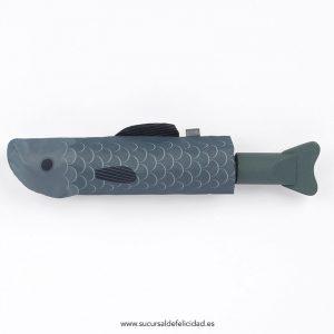 Paraguas Plegable Blue Fish
