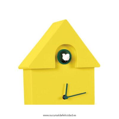 Reloj Pared Cuckoo Amarillo