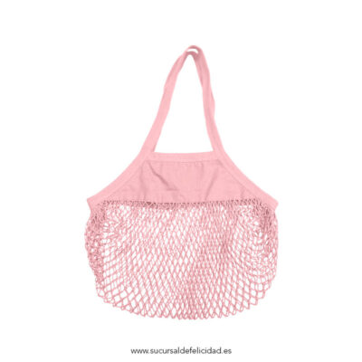 Bolsa Orgánica Red Shopper Rosa