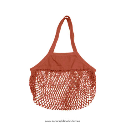 Bolsa Orgánica Red Shopper Terracota