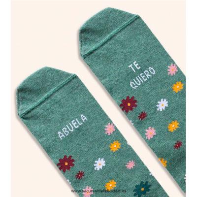 """Calcetines """"Abuela te quiero"""""""