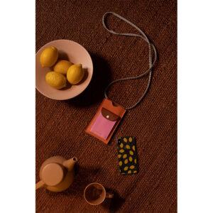 Bolsito para móvil Rosa y Naranja Sticky Lemon
