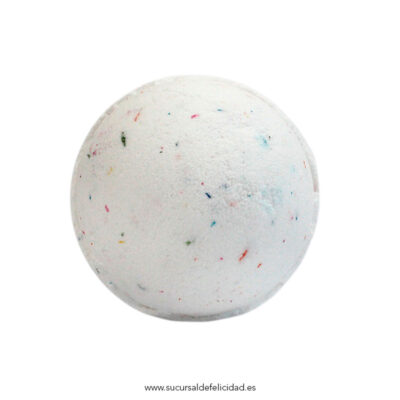Bomba de baño Tutti Frutti Blanco
