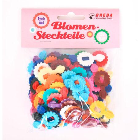 Kit de Pulseras Flores Retro