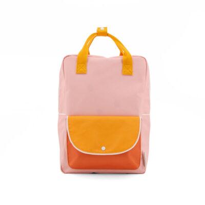 Mochila Wanderer Rosa+ Naranja + Amarillo – Sticky Lemon