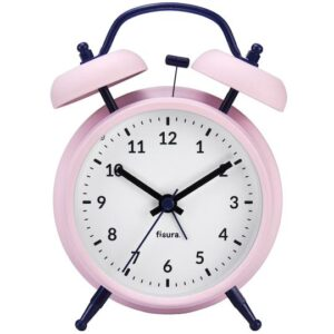 Reloj despertador Retro Rosa & Azul