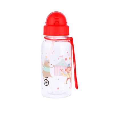 Botella Infantil Circo Pajita
