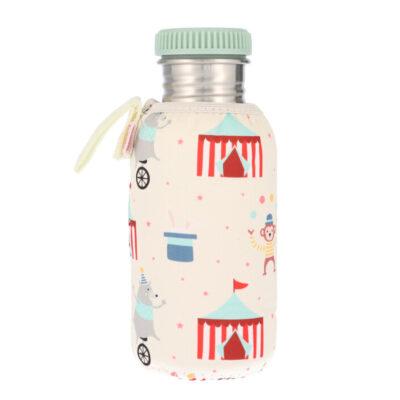 Botella Acero con Funda Circo 500ml