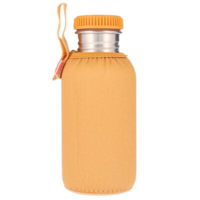 Botella Acero con Funda Mostaza 500ml