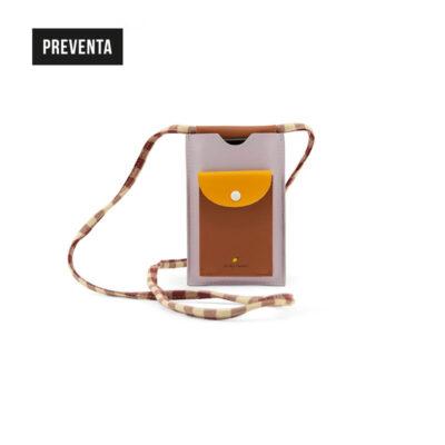 Bolso para móvil chocolate sundae + amarillo margarita + lila Sticky Lemon preventa
