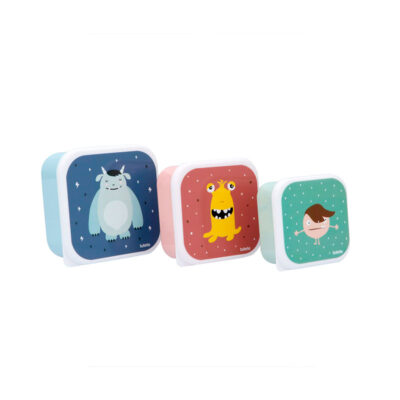 Set 3 Tuppers Little Monsters