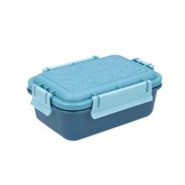 Tupper Bento Dots Azul